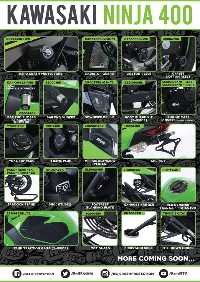 R&G gamme pour Ninja 400 Ca6a7610