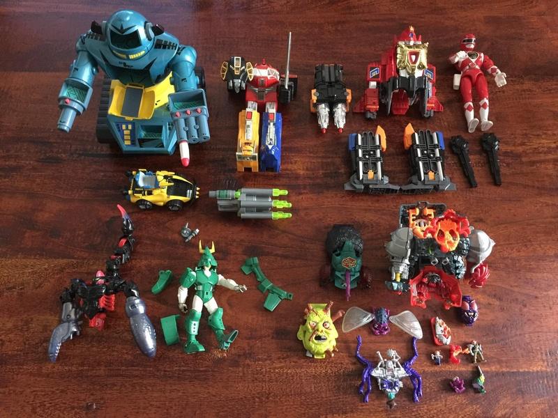 Lotto Power Ranger e Mighty Max e varie Ba691710