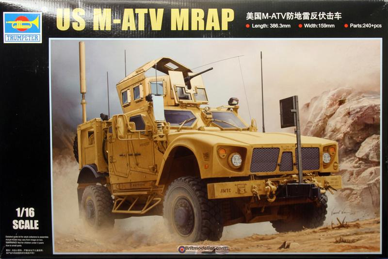 Trumpeter 1/16 M-ATV MRAP Boxart10