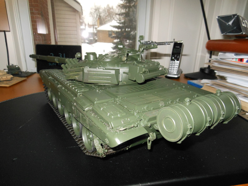 Another Trumpeter RC Conversion - T-72B Dscn1955
