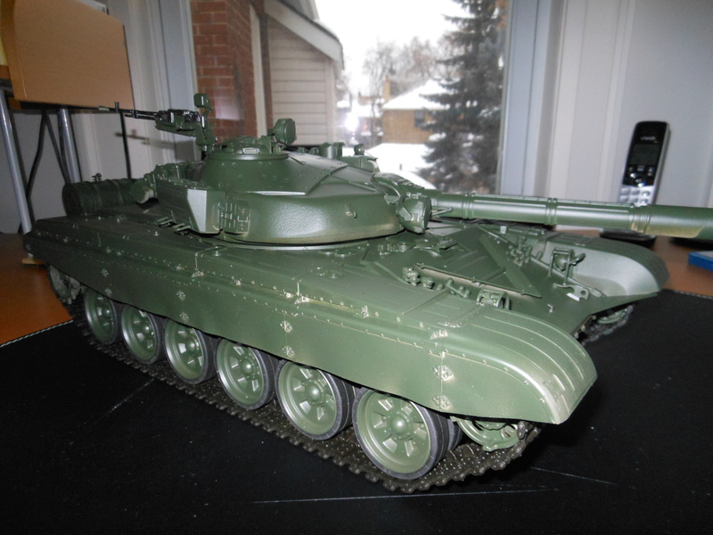 Another Trumpeter RC Conversion - T-72B Dscn1959
