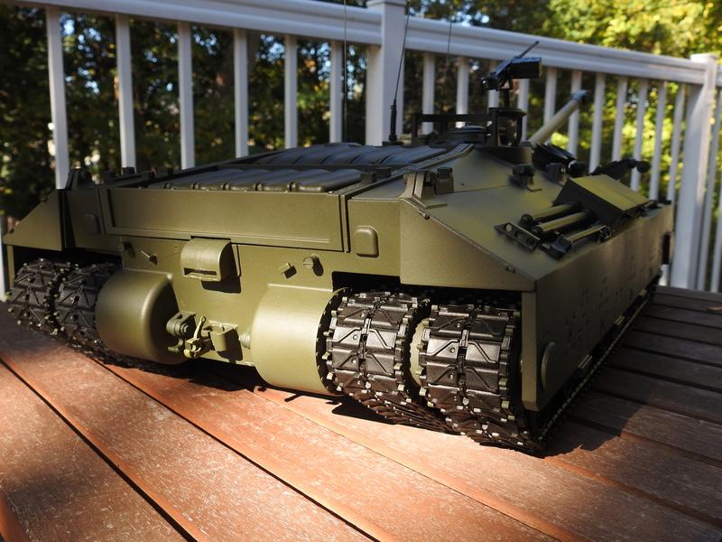OKMO 1/16 T28/95 GMC RC tank  Dscn2314