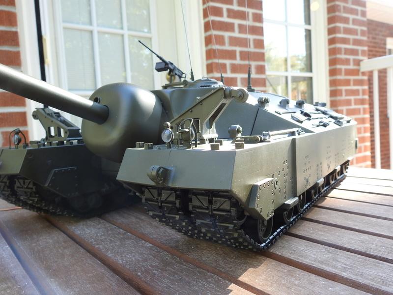 OKMO 1/16 T28/95 GMC RC tank  Dscn2317