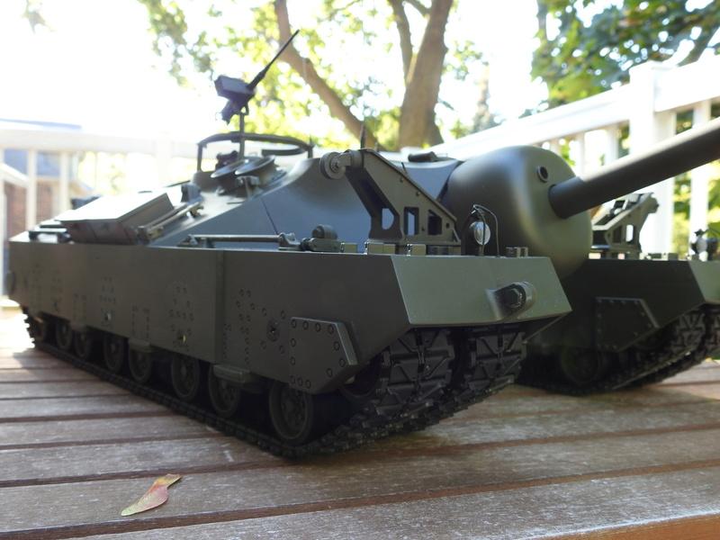OKMO 1/16 T28/95 GMC RC tank  Dscn2320