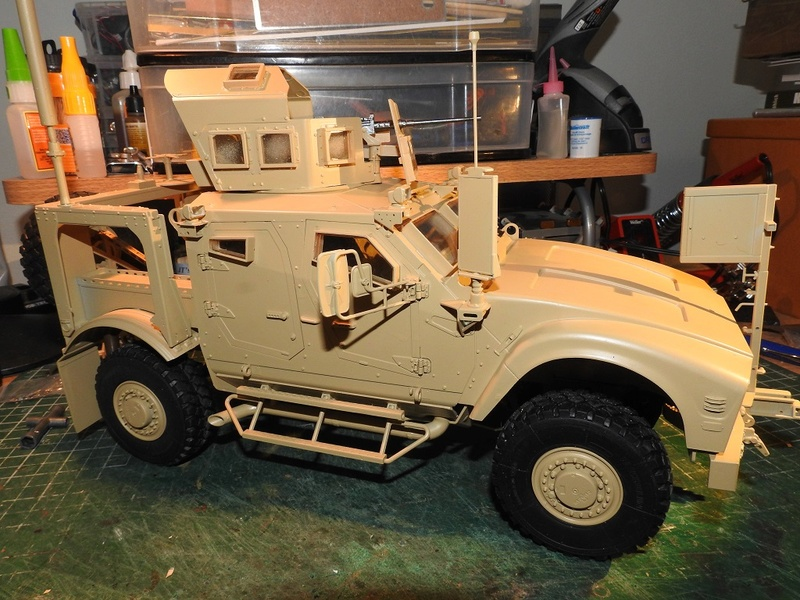 Trumpeter 1/16 M-ATV MRAP Dscn2417