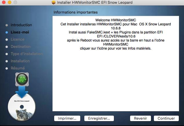 HWMonitorSMC EFI  Snow Leopard 0110