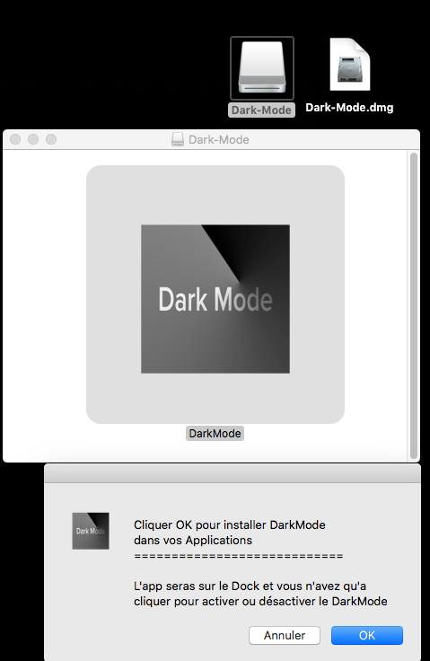 DarkMode pour macOS High Sierra 127