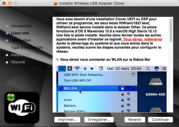 Wireless USB Adapter Clover 2captu21