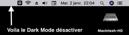 DarkMode pour macOS High Sierra 313