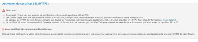 Activation du certificat SSL (HTTPS) Captu115