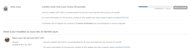 sécurité update   Captu130