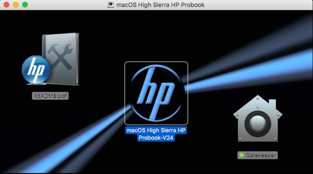 macOS High Sierra / macOS Sierra HP Probook Captu193