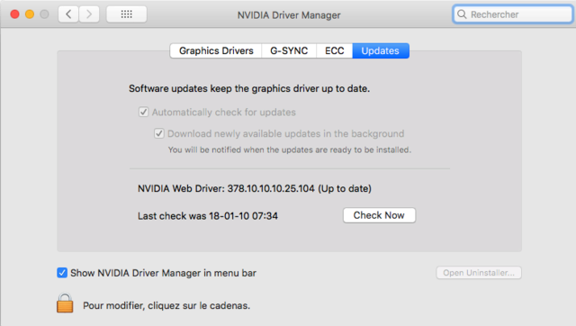 Web Drivers 10.13 macOS High Sierra NVIDIA GeForce GT 1030 - Page 3 Captu214