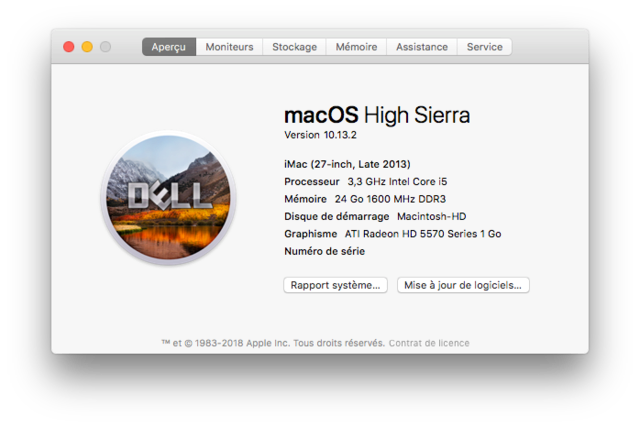 Dell Optiplex 790 macOS High Siera / (Fonctionne 10.6 A 10.13) - Page 5 Captu261