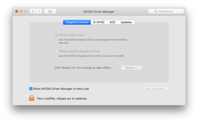 Beta macOS High Sierra Beta 10.13 1 (17B46a) a 10.13.2 Beta et +++ Captu287