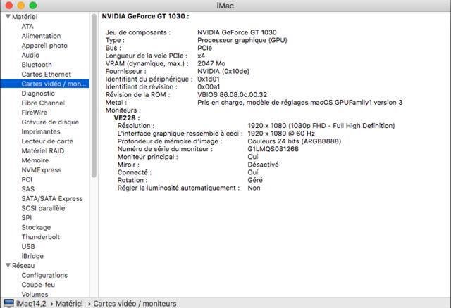 Beta macOS High Sierra Beta 10.13 1 (17B46a) a 10.13.2 Beta et +++ Captu288