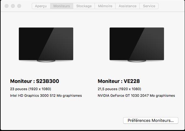 Beta macOS High Sierra Beta 10.13 1 (17B46a) a 10.13.2 Beta et +++ Captu290