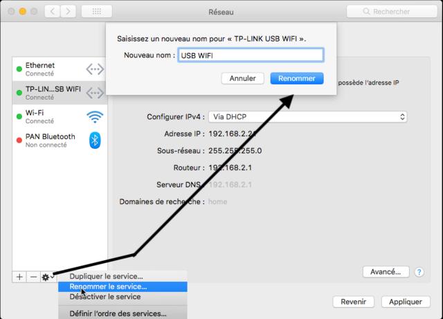 TP-LINK WIFI Network macOS Captu303