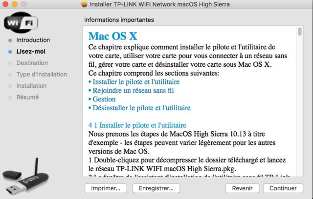 TP-LINK WIFI Network macOS Captu305