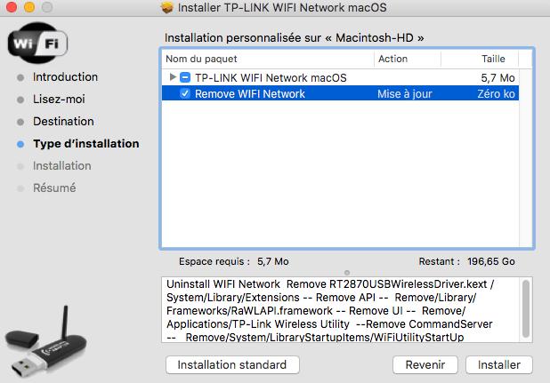 TP-LINK WIFI Network macOS Captu321