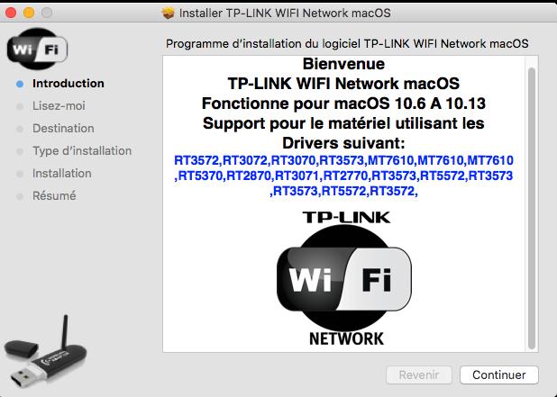 TP-LINK WIFI Network macOS Captu323