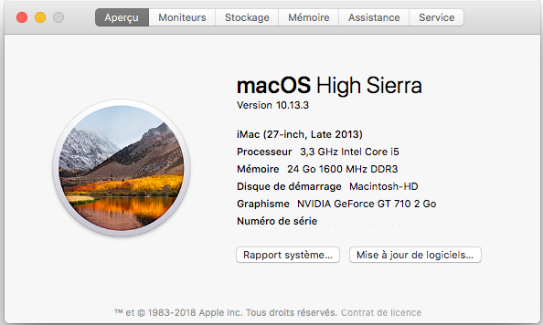 Dell Optiplex 790 macOS High Siera / (Fonctionne 10.6 A 10.13) - Page 5 Captu327