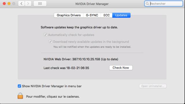 Web Drivers 10.13 macOS High Sierra NVIDIA GeForce GT 1030 - Page 3 Captu348