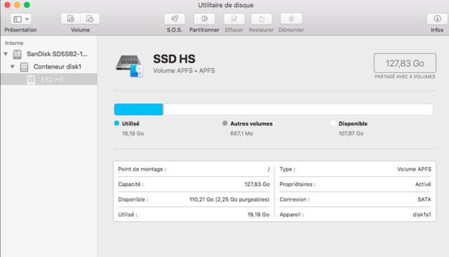 Beta macOS High Sierra Beta 10.13 1 (17B46a) a 10.13.2 Beta et +++ - Page 2 Captu372