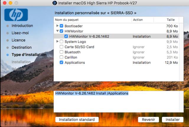 macOS High Sierra / macOS Sierra HP Probook Captu394