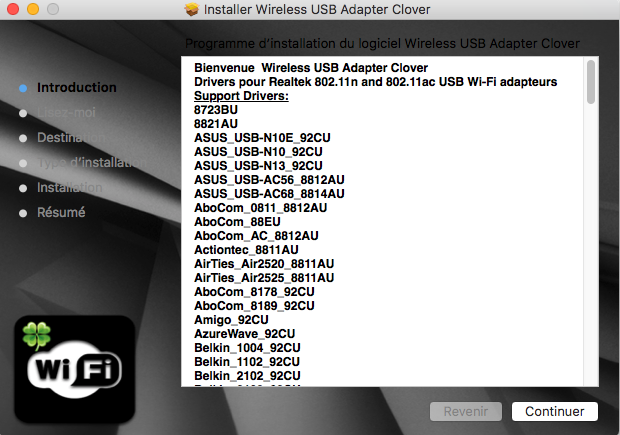 Wireless USB Adapter Clover Captu407