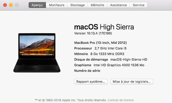 Mise a jour macOS High Sierra 10.13.4  Captu436