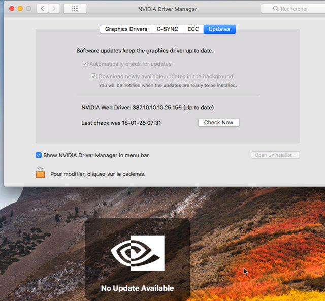 Beta macOS High Sierra Beta 10.13 1 (17B46a) a 10.13.2 Beta et +++ Captur36