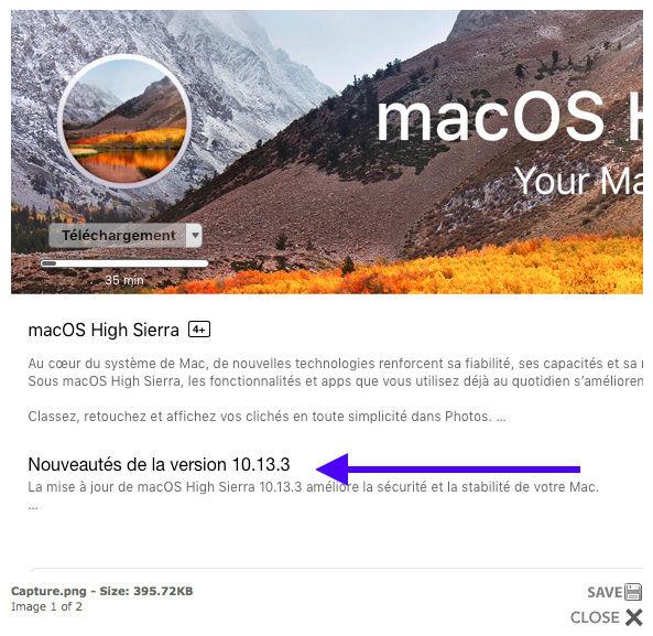 Install macOS High Sierra.app 10.13.3 Captur37