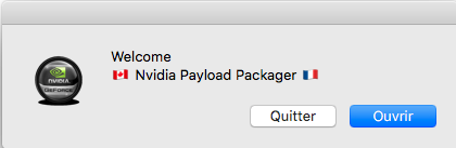 Nvidia Payload-Packager Captur50