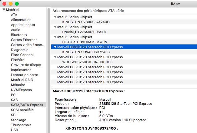 Dell Optiplex 790 macOS High Siera / (Fonctionne 10.6 A 10.13) - Page 5 Captur57