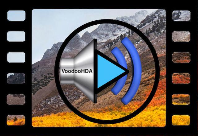 VoodooHDA macOS High Sierra / macOS Mojave Frame-11
