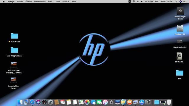 Montrer ici votre Desktop - Page 2 Hp10