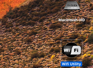 WIFI Network macOS High Sierra Lunche10