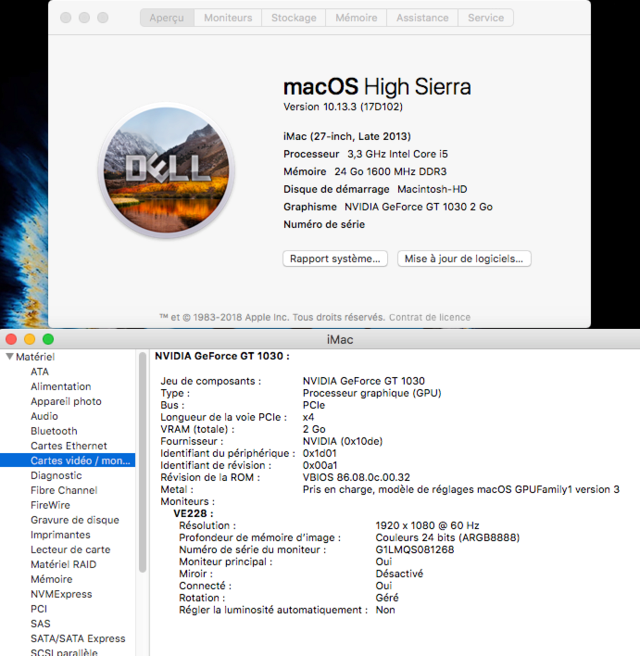 Web Drivers 10.13 macOS High Sierra NVIDIA GeForce GT 1030 - Page 3 Sans_119