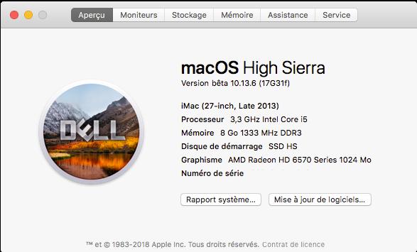 Beta macOS High Sierra Beta 10.13 1 (17B46a) a 10.13.2 Beta et +++ - Page 3 Sans_187