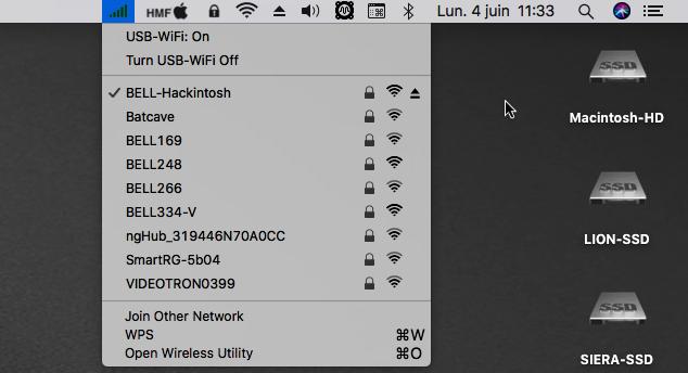 Wireless USB Adapter Clover Sans_190