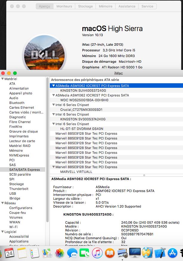 Dell Optiplex 790 macOS High Siera / (Fonctionne 10.6 A 10.13) - Page 5 Sans_t25