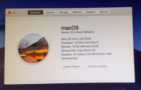macOS Mojave 10 14  Beta (Beta1, Beta2, Beta3, Beta4, Beta5