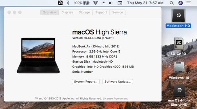 Beta macOS High Sierra Beta 10.13 1 (17B46a) a 10.13.2 Beta et +++ - Page 3 Untitl20