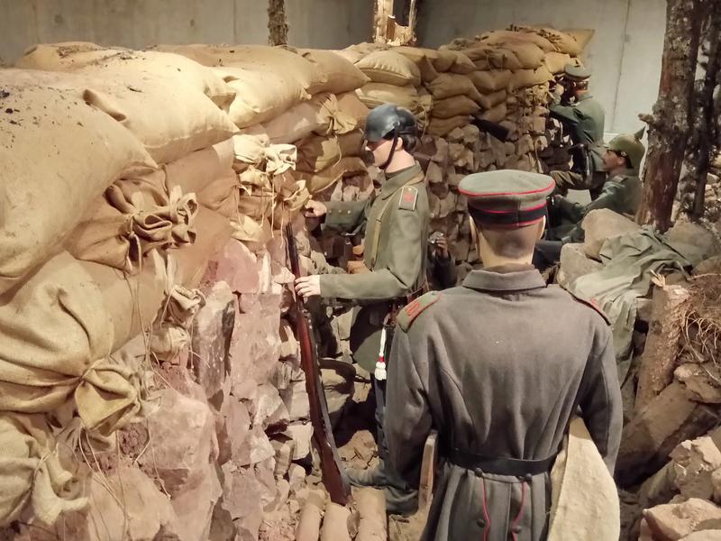 Musée de la bataille du Linge -1915 ( Orbey , Haut Rhin / Alsace ) Dsc_1837