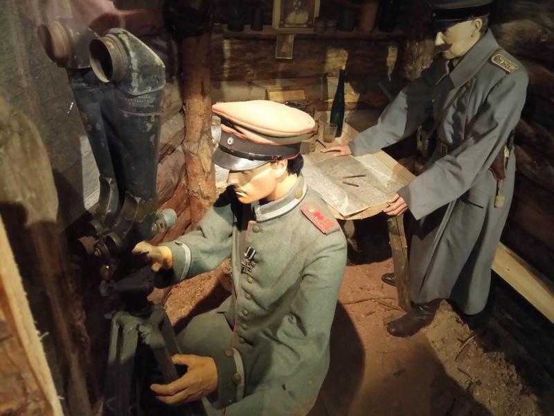 Musée de la bataille du Linge -1915 ( Orbey , Haut Rhin / Alsace ) Dsc_1840
