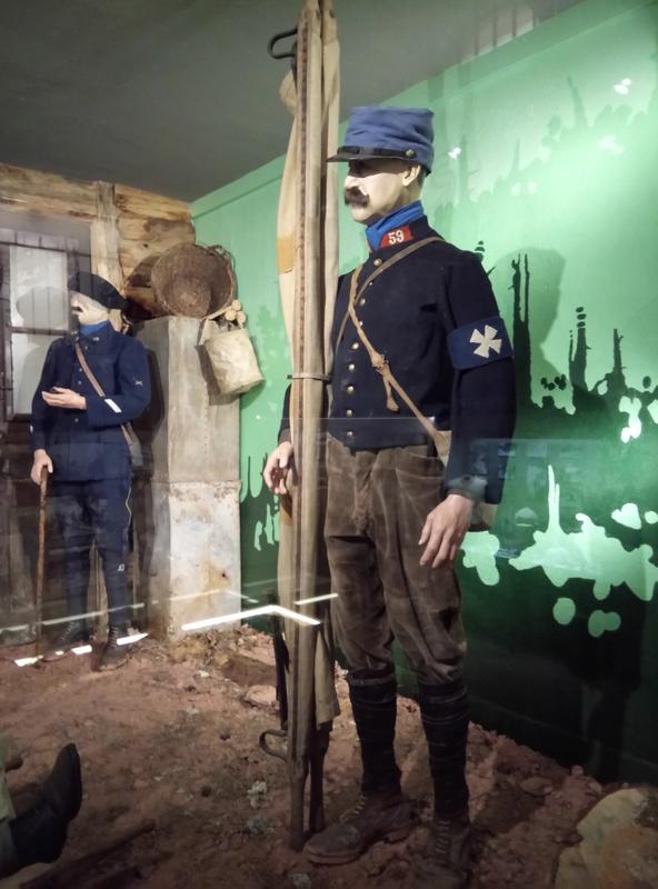 Musée de la bataille du Linge -1915 ( Orbey , Haut Rhin / Alsace ) Dsc_1846