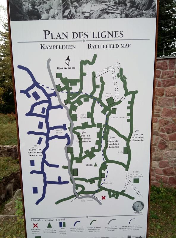 Musée de la bataille du Linge -1915 ( Orbey , Haut Rhin / Alsace ) Dsc_1927