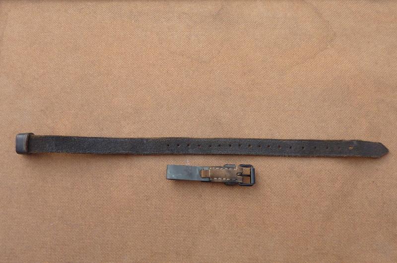 La jugulaire du casque allemand P1140515