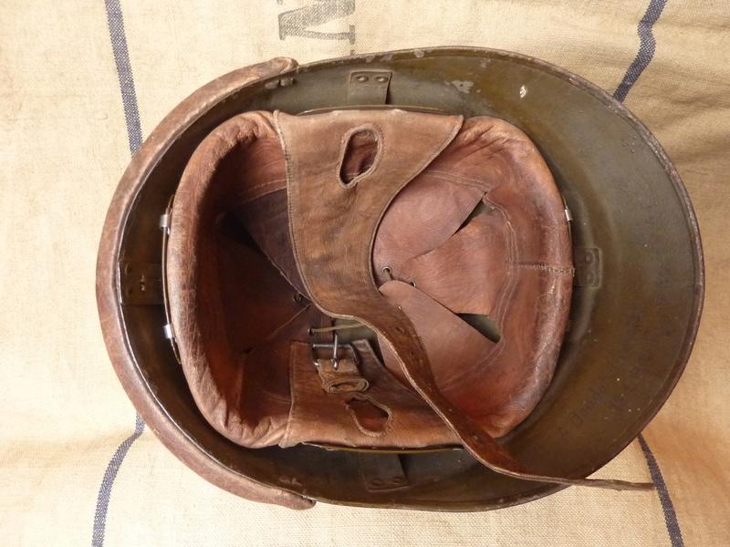 Un casque motorisé mod. 35 identifié du 18eme GRDI  P1190214